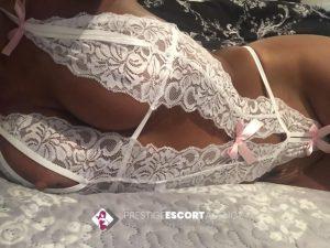 sexy white lingerie